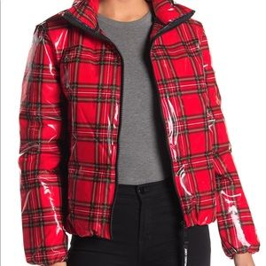 Juicy Couture glossy puffer jacket